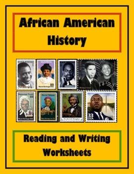 African American History Worksheet Packet - Frederick Douglass