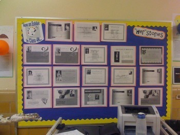 Black History Month and Women's History Biography Certificates