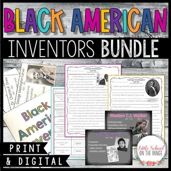 Black History Month BUNDLE - African American Inventors