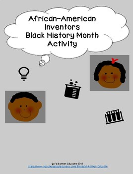 African-American Inventors, Black History Month Activity