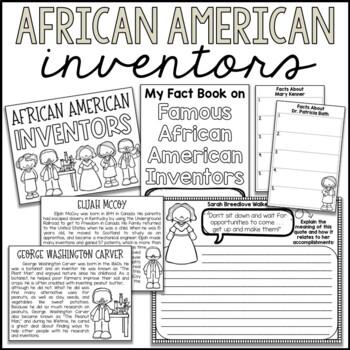 African American Inventors Mini Book