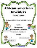 African American Inventors Common Core Close Activities