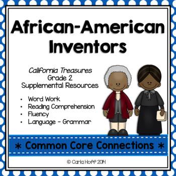 African-American Inventors - Common Core Connections - Treasures Grade 2