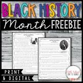 Black History Month FREEBIE