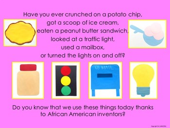Black History Month: African American Inventors PowerPoint