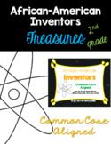 African-American Inventors: Treasures 2nd Grade:Common Core Aligned Activities