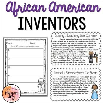 African American Inventors Unit