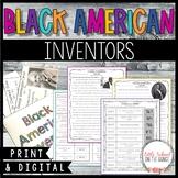 Black History Month - Inventors