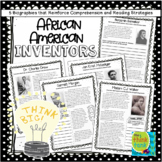 African American Inventors with Reading Passages and Comprehension Strategies