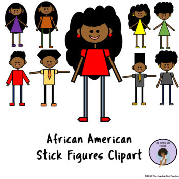 African American Kids Clipart