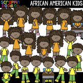 African American Kids Clipart {Scrappin Doodles Clip Art}