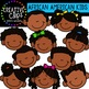 African American Kids {Creative Clips Clipart}
