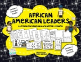 African American Leaders - Emergent Reader and Activities