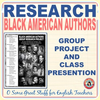 Black History African American Literature Group Research Project