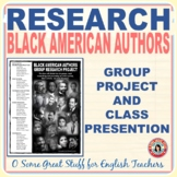 Black Authors Throughout History Group Research and Presentation Project