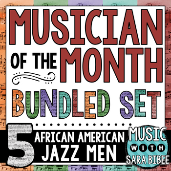 African American Musical Artist Celebration- Bulletin Board Pack: Bundle #1