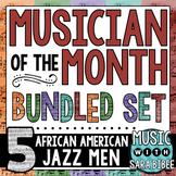 Musician of the Month: Bundle - African American Jazz Men