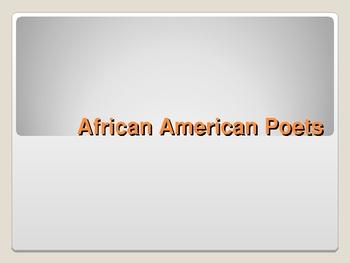 African American Poets: Maya, Nikki, Langston, Robert, and Sterling