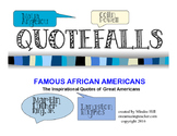African American Quote Falls