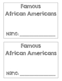 African American Research Booklet