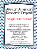 African American Research Project - Google Slides Version