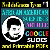 African American Scientist Series - Article or Sub Plan 1: Neil deGrasse Tyson