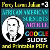 African American Scientist Series - Article or Sub Plan 3: Percy Lavon Julian