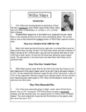 African-American Series-Willie Mays