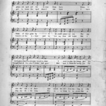 African-American Sheet Music, 1850-1920