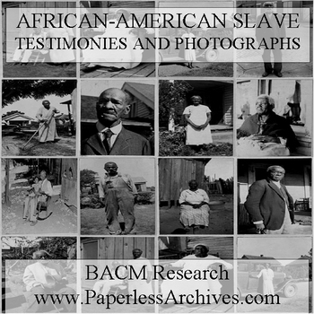 African-American Slave Testimonies and Photographs