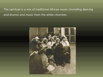 African American Spirituals