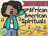 African American Spirituals Sing-Along {Black History Month}