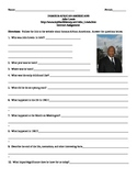 African American Studies Internet Assignment John Lewis
