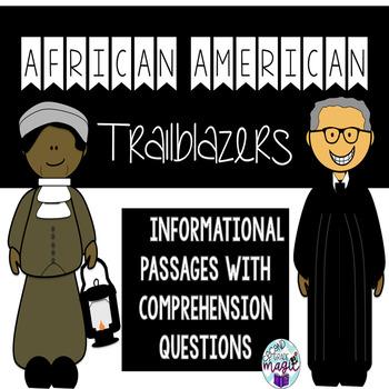 African American Trailblazers **Black History Month**