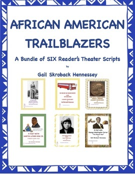 African American Trailblazers(Bundle of SIX Famous African American)