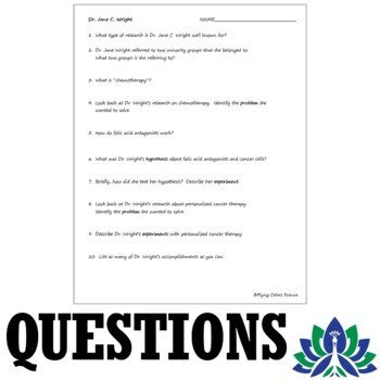 Middle School Steps of the Scientific Method Worksheet - Famous Scientists
