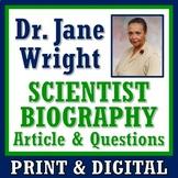 Scientific Method in Action: Woman Scientist Biography Article & Worksheet