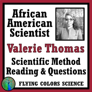 Middle School Scientific Method Reading & Questions: Work of Famous Scientists
