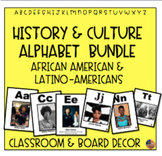 African American and Latino American History and Culture Alphabet Bundle