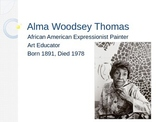 African American artist painting project