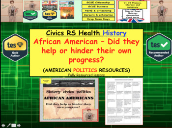 African Americans - Did they help or hinder their own progress? 1865-1992