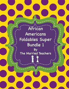 African Americans Foldables Super Bundle 1