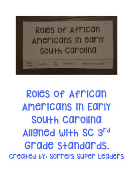African Americans in Early South Carolina