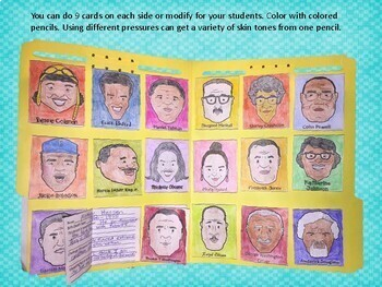 African Americans in History File Folder Project