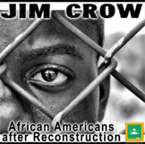 Jim Crow PowerPoint + Plessy v. Ferguson Primary Source Activity Bundle