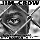 Jim Crow PowerPoint + Plessy v. Ferguson Primary Source Ac
