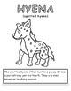 African Animal Coloring sheet- 24 Designs