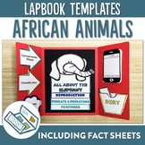 African Animal Lapbook and Fact Sheets