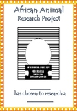 African Animal Research Booklet