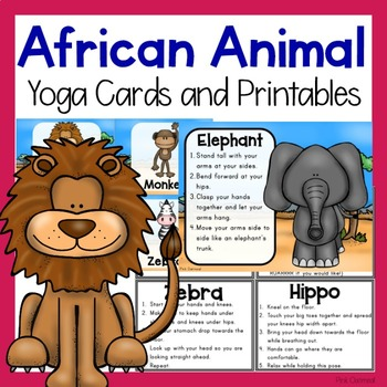 African Animal Themed Yoga